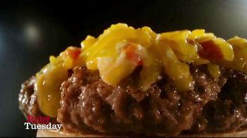 Ruby Tuesday Cheesy Crunch Burger TV Spot, 'Gonna Need a Bigger Mouth' - Thumbnail 2