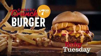 Ruby Tuesday Cheesy Crunch Burger TV Spot, 'Gonna Need a Bigger Mouth' - Thumbnail 9