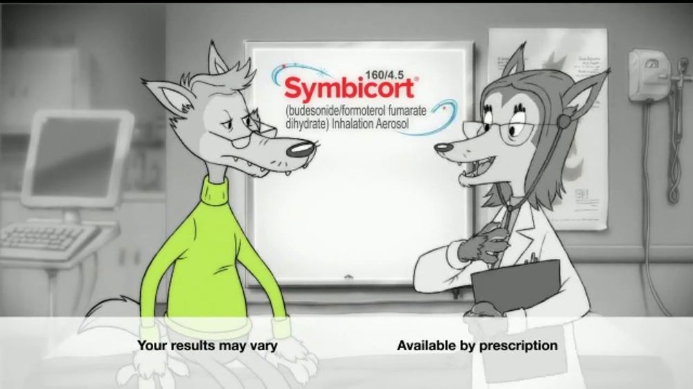 Symbicort TV Commercial, 'Wolf: Birthday'