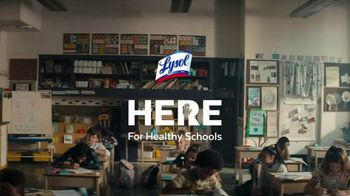 Lysol TV Spot, \'Here for Healthy Schools\'