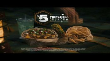Taco Bell Triple Double Crunchwrap Box TV Spot, 'Meteor Shower' - Thumbnail 8
