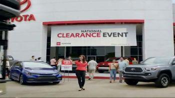Toyota National Clearance Event TV Spot, 'Duet' [T2]