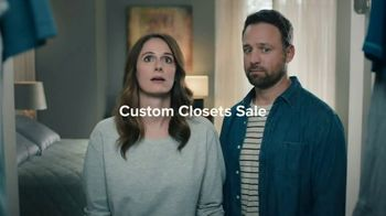 The Container Store Custom Closets Sale TV Spot, 'Space Is Coming' - 33 commercial airings