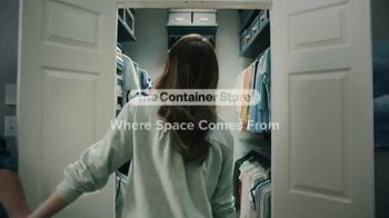 The Container Store Custom Closets Sale TV Spot, 'Space Is Coming' - Thumbnail 7