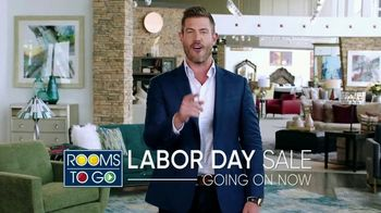 Rooms to Go Labor Day Sale TV Spot, 'Go Time' Featuring Jesse Palmer - Thumbnail 10