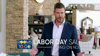 Rooms to Go Labor Day Sale TV Spot, 'Go Time' Featuring Jesse Palmer - Thumbnail 2