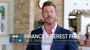 Rooms to Go Labor Day Sale TV Spot, 'Go Time' Featuring Jesse Palmer - Thumbnail 8