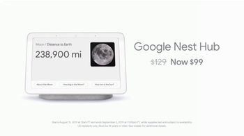 Google Nest Hub TV Spot, 'Be in the Know: $99' - Thumbnail 5