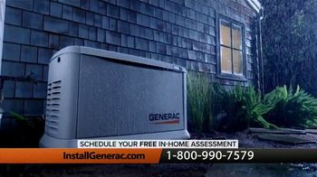 Generac Home Stand-By Generator TV Spot, 'Automatically Provides Power'