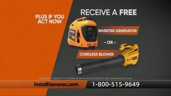 Generac TV Spot, 'Power Your Life: Special Financing + Free Inverter Generator or Blower' - Thumbnail 8