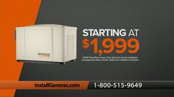 Generac TV Spot, \'Power Your Life: Special Financing + Free Inverter Generator or Blower\'