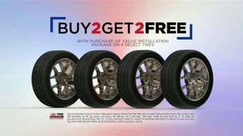 Tire Kingdom Labor Day Savings TV Spot, 'Buy Two, Get Two Tires + $75 Mail-In Rebate' - Thumbnail 3
