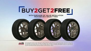Tire Kingdom Labor Day Savings TV Spot, 'Buy Two, Get Two Tires + $75 Mail-In Rebate' - Thumbnail 4