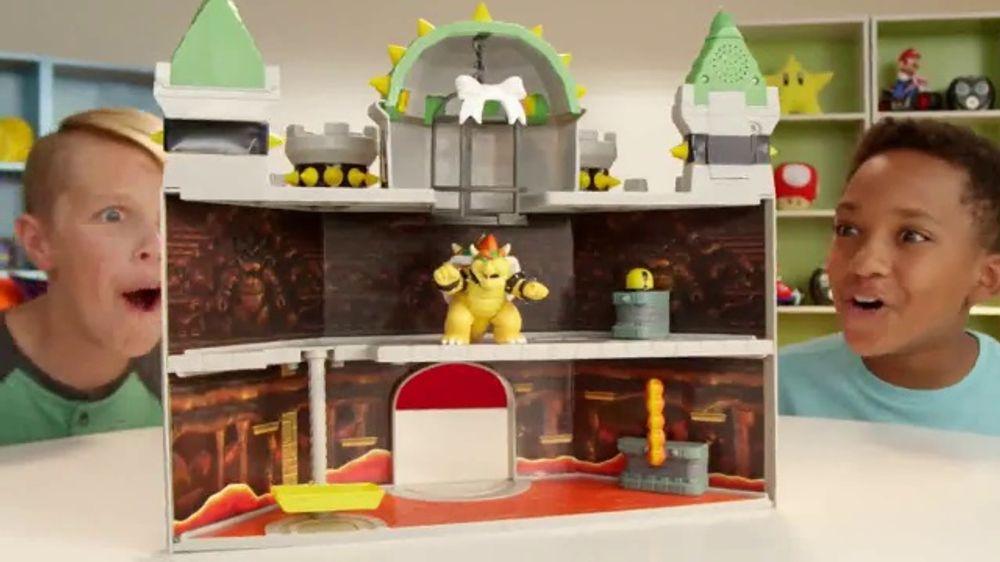 Super Mario Deluxe Bowser S Castle Playset Tv Commercial Mushroom Kingdom Video