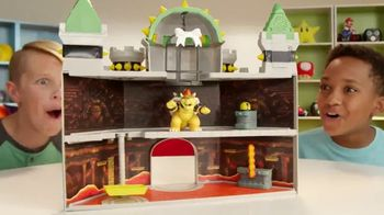 Super Mario Deluxe Bowser's Castle Playset: Mushroom Kingdom thumbnail