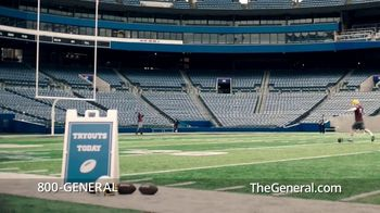 The General TV Spot, 'Field Goal' - Thumbnail 1