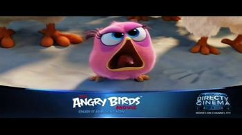 DIRECTV Cinema TV Spot, 'The Angry Birds Movie'