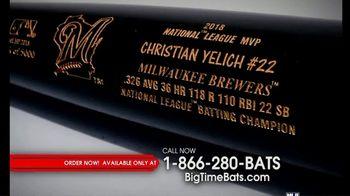 Big Time Bats TV Spot, 'Christian Yelich 2018 NL MVP Louisville Slugger Bat' - Thumbnail 1