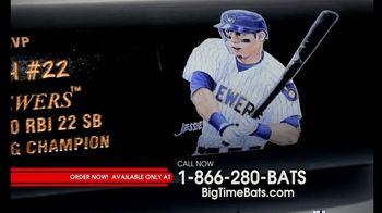 Big Time Bats TV Spot, 'Christian Yelich 2018 NL MVP Louisville Slugger Bat' - 4 commercial airings