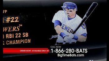 Big Time Bats TV Spot, 'Christian Yelich 2018 NL MVP Louisville Slugger Bat' - Thumbnail 4