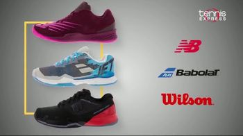 Tennis Express TV Spot, 'New Balance, Babolat and Wilson Shoes'