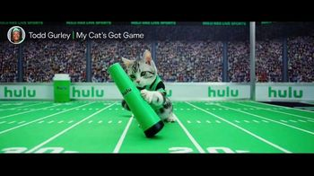 Hulu TV Spot, 'Todd Gurley's New Cat' Featuring Todd Gurley - Thumbnail 1