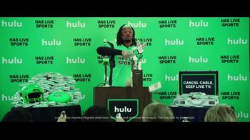 Hulu TV Spot, 'Todd Gurley's New Cat' Featuring Todd Gurley - Thumbnail 10