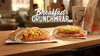 Taco Bell Breakfast Crunchwrap TV Spot, 'Tu despertador' [Spanish] - Thumbnail 8