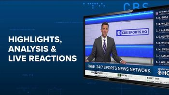 CBS Sports HQ TV Spot, 'News Without the Yelling'
