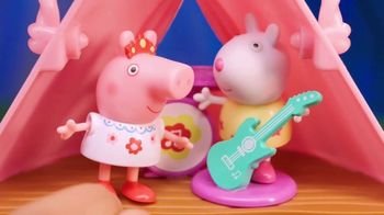 Peppa Pig Glamping Tent Playset TV Spot, 'Lots of Home Comfort'