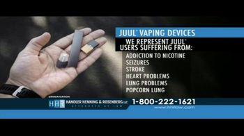 Handler Henning & Rosenberg LLP TV Spot, 'Juul Vaping Devices'