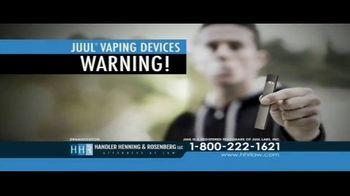 Handler Henning & Rosenberg LLP TV Spot, 'Juul Vaping Devices' - Thumbnail 1
