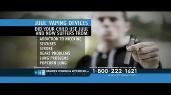 Handler Henning & Rosenberg LLP TV Spot, 'Juul Vaping Devices' - Thumbnail 3
