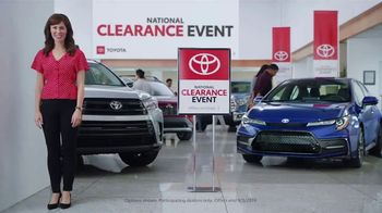 Toyota National Clearance Event TV Spot, 'Final Days' [T1] - 6 commercial airings