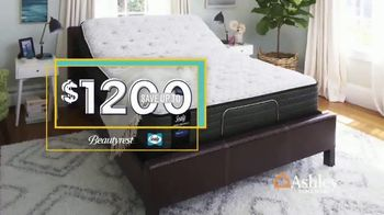 Ashley HomeStore Labor Day Mattress Sale TV Spot, 'Adjustable Sets' Song by Midnight Riot - Thumbnail 4