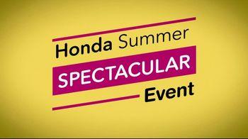 Honda Summer Spectacular Event TV Spot, 'Get Civics' [T2] - Thumbnail 4