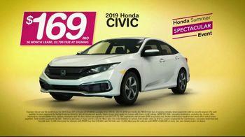 Honda Summer Spectacular Event TV Spot, 'Get Civics' [T2] - Thumbnail 6