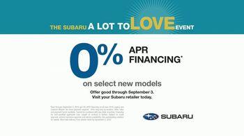 Subaru A Lot to Love Event TV Spot, 'Old Friends' [T2] - Thumbnail 9