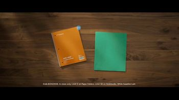 Staples TV Spot, 'Back to School Essentials: Folders and Notebooks' - Thumbnail 7