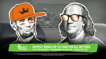 DraftKings Sportsbook TV Spot, 'Keep It 100: Deposit Bonus'