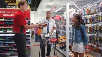 Office Depot TV Spot, 'Back to School: Some Pens? Get All the Pens: Sharpies and Pencils' - 1720 commercial airings