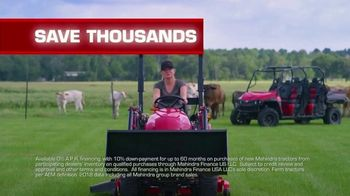 Mahindra TV Spot, 'More for Your Money' - Thumbnail 9