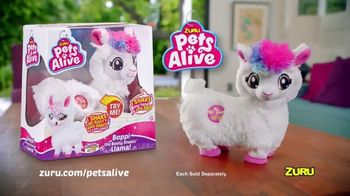 Zuru Pets Alive Boppi the Booty Shakin' Llama TV Spot, 'Real Shakin' and Dancin' Pet' - Thumbnail 9