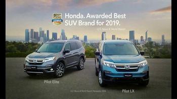 Honda Pilot TV Spot, 'Why Not Pilot?' [T1] - Thumbnail 7