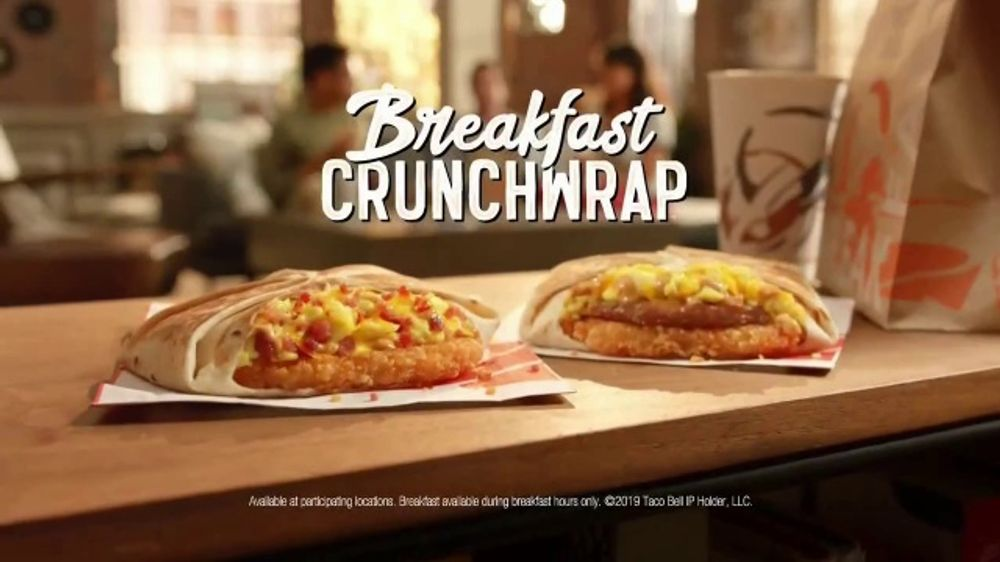 Taco Bell Breakfast Crunchwrap TV Commercial, 'Wake-Up Call'