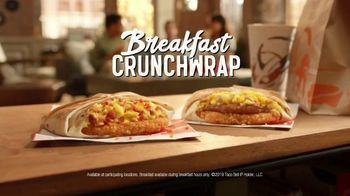 Taco Bell Breakfast Crunchwrap TV Spot, 'Wake-Up Call'