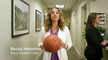 SWBC | PEO TV Spot, 'Get Back to Doing What You Love' Featuring Becky Hammon - 3 commercial airings