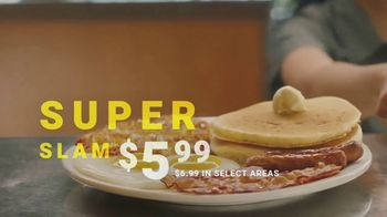 Denny's Super Slam TV Spot, 'Back with Pumpkin Pancakes!' - Thumbnail 9