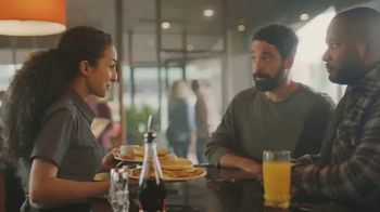 Denny's Super Slam TV Spot, 'Back with Pumpkin Pancakes!'
