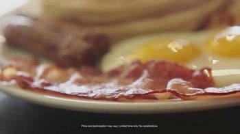 Denny's Super Slam TV Spot, 'Back with Pumpkin Pancakes!' - Thumbnail 6